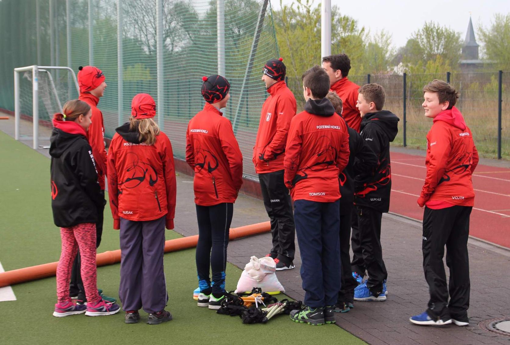 Turnaj mladších žáků vNěmecku