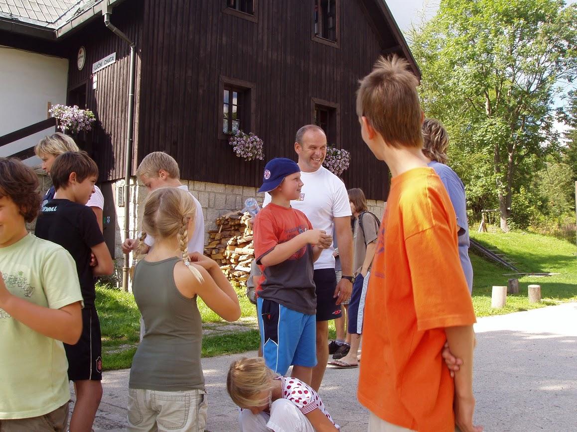 2007 soustředění Kořenov, Luční chata